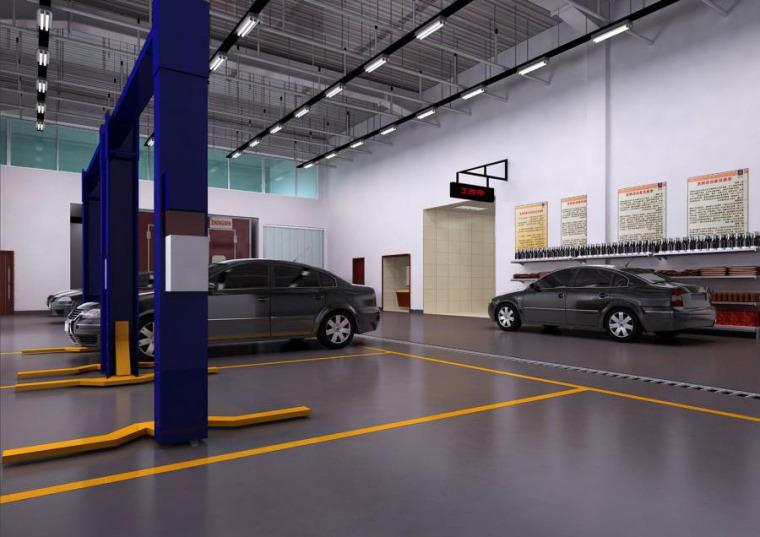 (原创)汽车4S店室内设计案例效果图-汽车4S店 (5)
