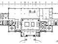 [湖北]武汉大售楼处室内精装修设计施工图(附效果图)