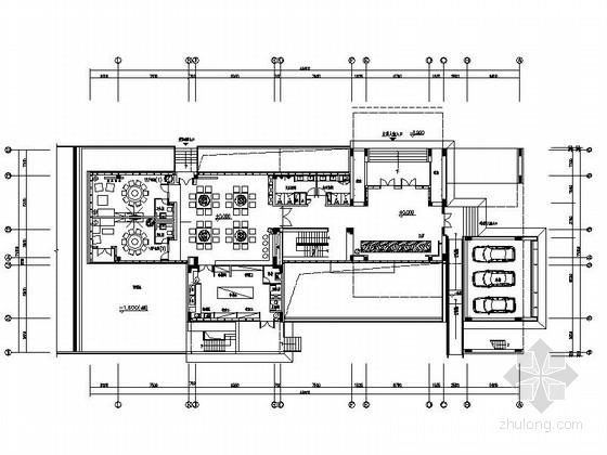 [成都]甲级资质设计顾问有限公司设计高档简约现代办公室室内装修施工图