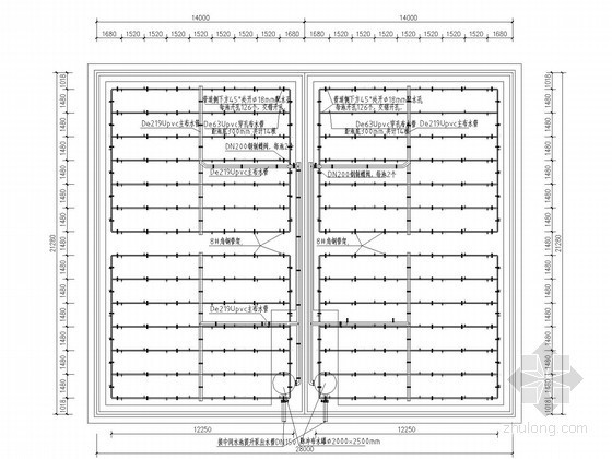 [河南]污水处理站污水预处理工程图纸(UASB工艺)