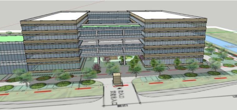 麻烦各位大神点评一下公司大楼的设计方案-3.jpg