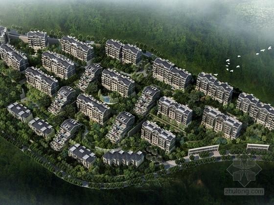 [重庆]现代风格多层住宅区规划设计方案文本(知名事务所)