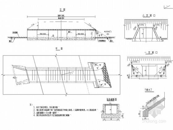 高速公路钢筋混凝土盖板涵洞通用图(32张)