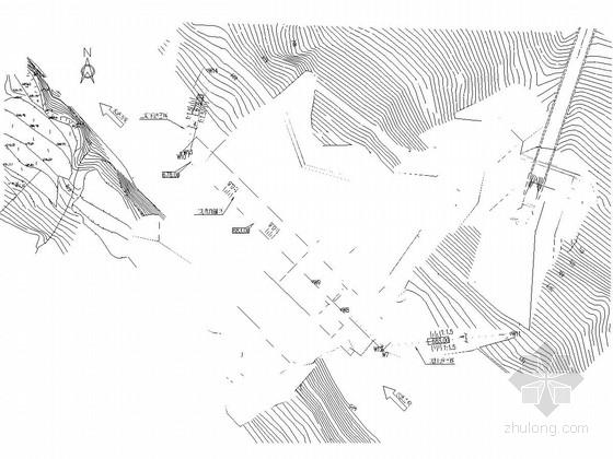 [湖北]水电站土建及安全监测工程初步设计施工图(大坝 泄洪系统 引水隧洞)