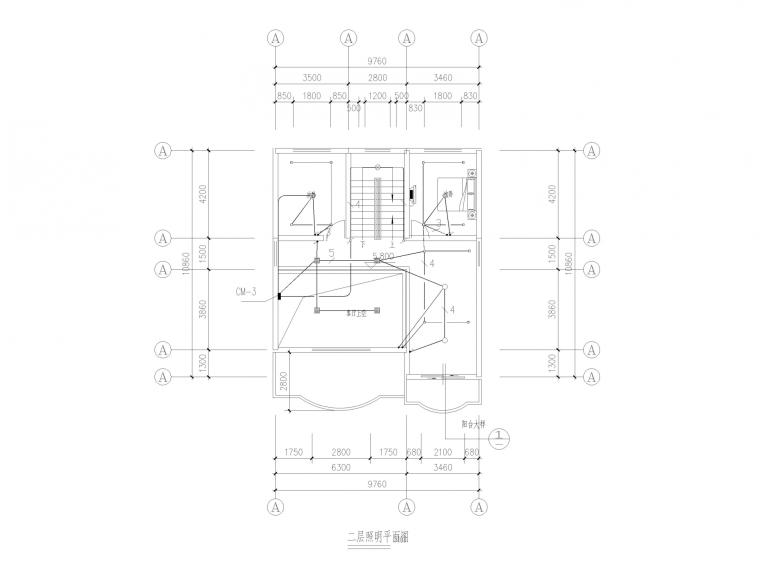 江西某经济型别墅全套施工图(建筑结构水电)_5