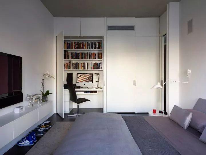 如何在家里挤出一间书房,这4种方案必须收藏!_17
