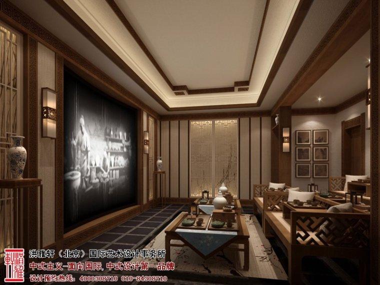 中华百园别墅新中式风格清幽简净古朴高雅_5