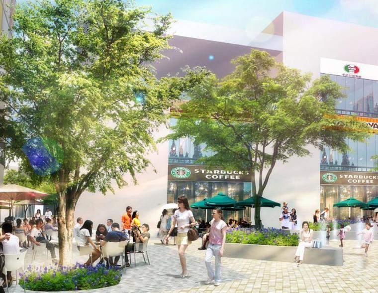[上海]宝龙七宝滨河景观方案和屋顶景观设计(PDF+71页)