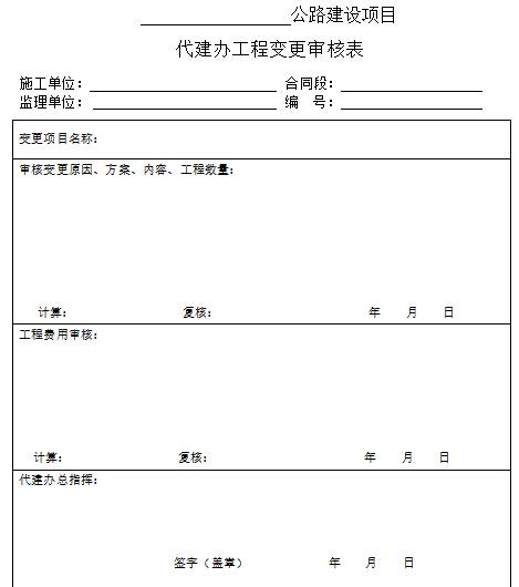 公路工程项目代建制管理办法(218页,编制详细)