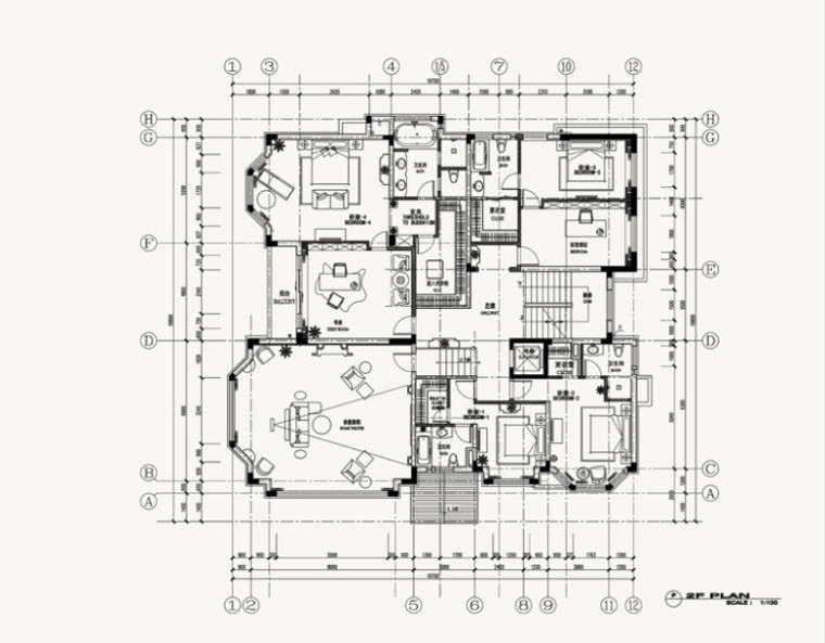 [湖南]威尼斯城英式府邸豪宅室内设计方案(18页)