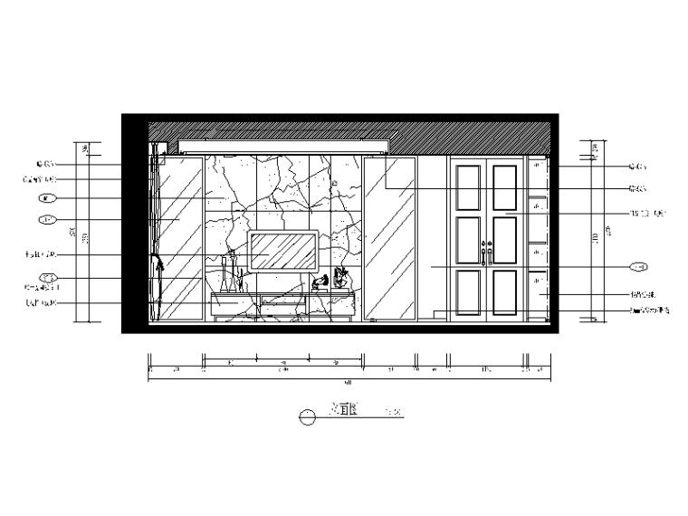 【福建】建欧现代风格别墅设计CAD施工图(含效果图)_2