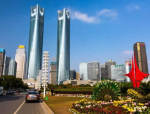【南昌绿地中央广场】双塔钢混框架-核心筒结构设计