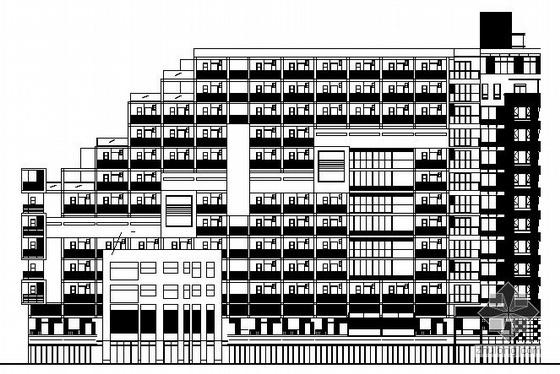 [成都]某金色家园建筑施工图
