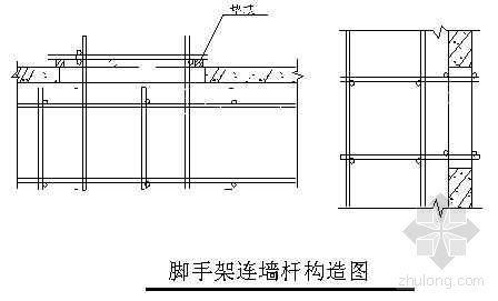 上海某仓储综合用房工程外脚手架施工方案(落地式脚手架、卸料平台)
