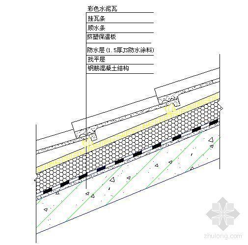 北京某住宅项目坡屋面施工方案