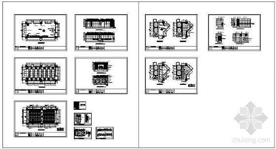 某电信办公门厅装饰施工图-4