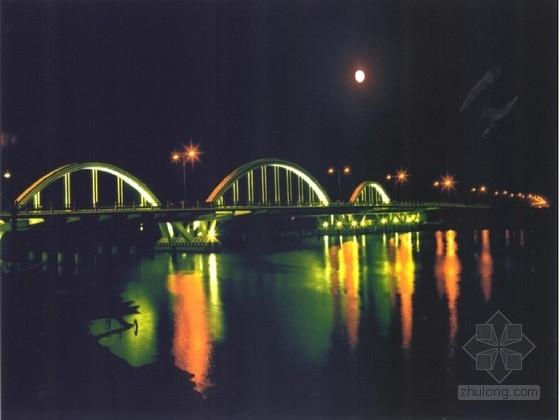 20+40+60+40+20m钢管混凝土拱桥施工图65张(著名桥梁公司)
