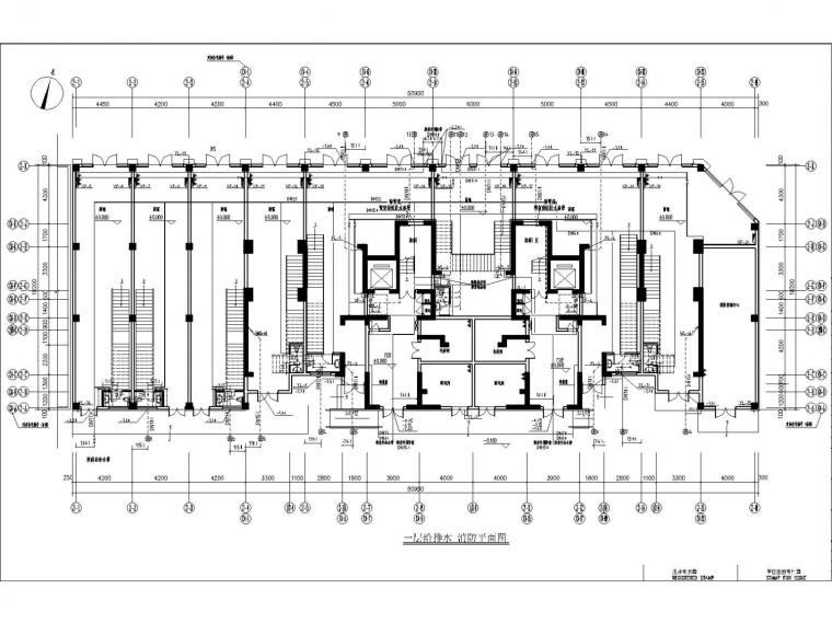 [内蒙古]高层商住楼水暖全套施工图设计