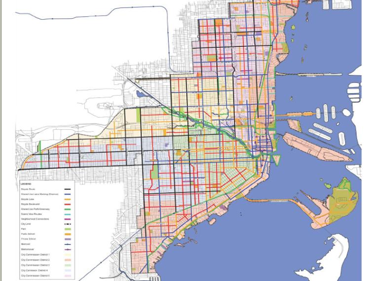 [国外]自行车街道总体规划扩初方案文本