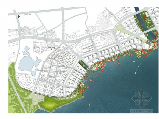 特色主题公园景观文本资料下载-[江苏]滨江特色生态主题公园景观设计方案