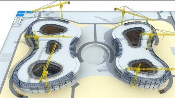[海南]异形国际购物中心项目幕墙工程施工方案(含钢结构 160余页 附三维图)