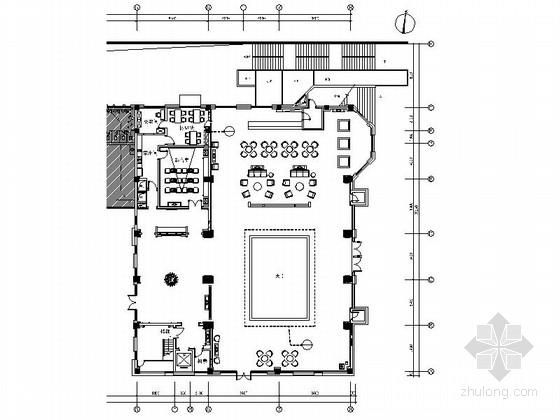 [浙江]时尚简约售楼中心设计CAD施工图(含实景图)