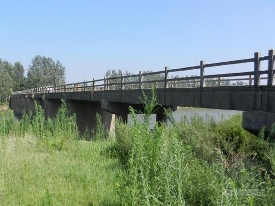 [湖北]13×13m多跨混凝土简支梁桥加固工程施工图设计(裂缝露筋破损)
