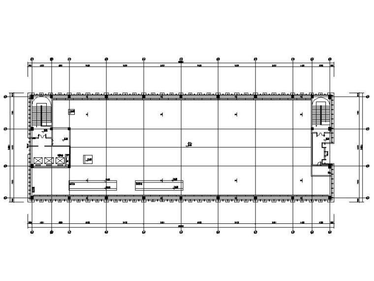 机房层平面图