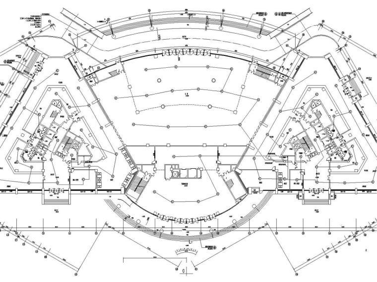 [广西]25层大型综合楼弱电智能化设计图纸(含弱电机房)