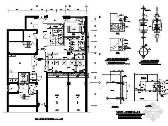 某十一层科研教学楼消防给排水施工图