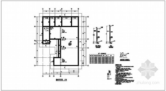 天津某住宅楼结构设计图