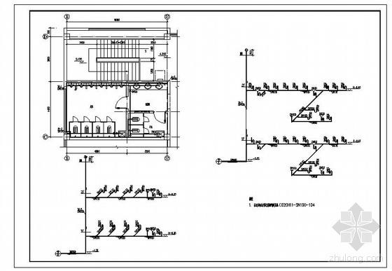 安徽某公司食堂给排水图纸