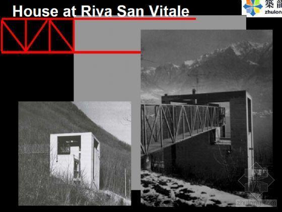 House at Riva San Vitale-对博塔设计作品的分析