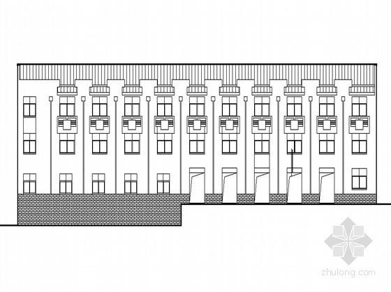 [怀化]某电力公司综合楼2号楼建筑施工图