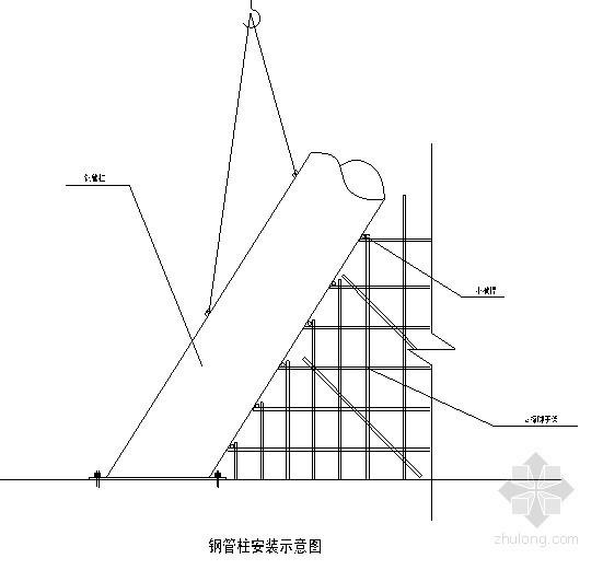 [山东]文化中心屋面钢构施工方案