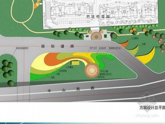 某小区入口景观绿地设计方案文本