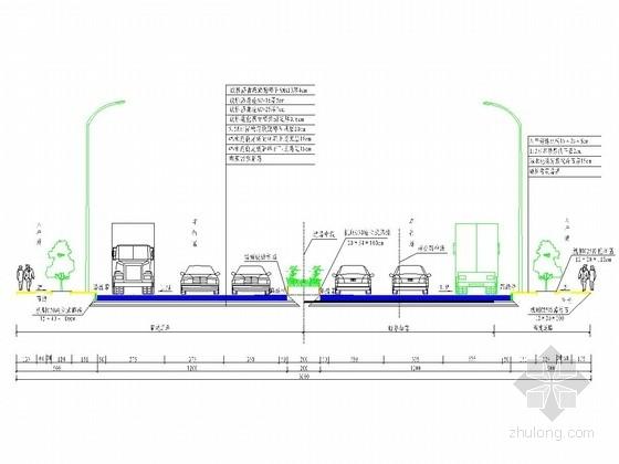 [重庆]双向六车道二级公路改扩建工程施工图设计195张