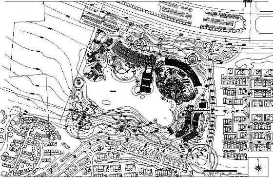 大唐芙蓉园山水草堂景观设计施工图