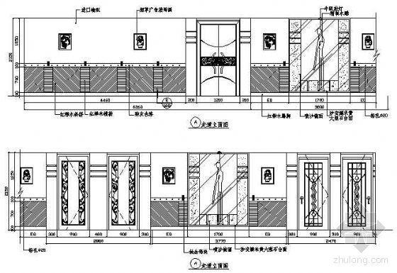餐厅包房立面图12