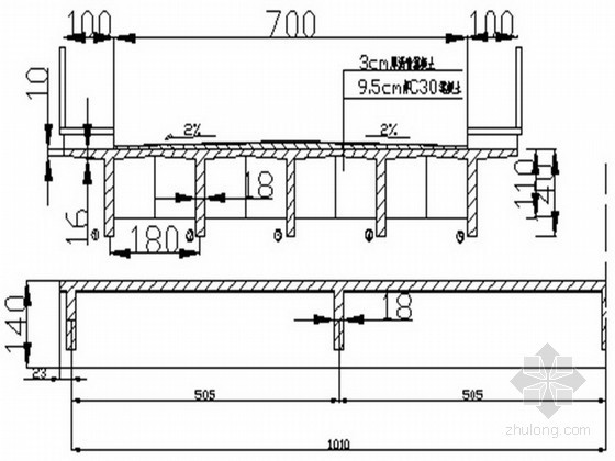 20米混凝土简支T梁课程设计计算书