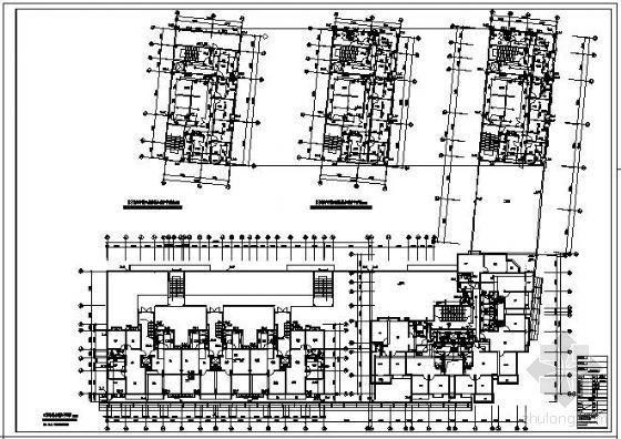 一类高层综合楼给排水全图