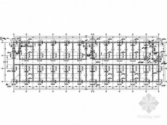 [包头]两层框架结构小商品加工市场结构施工图