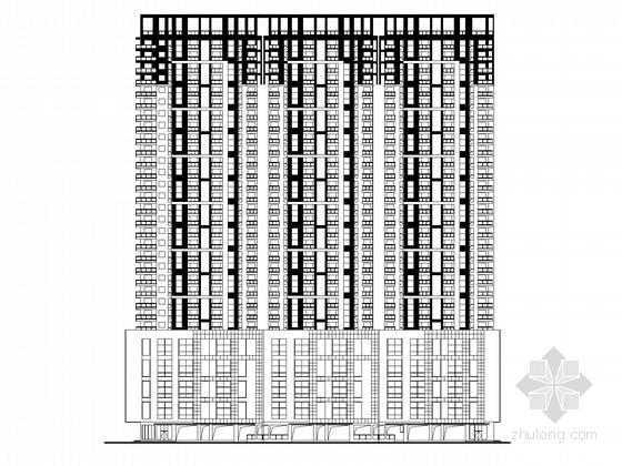 [安徽]大型购物中心建筑施工图(知名大学设计)