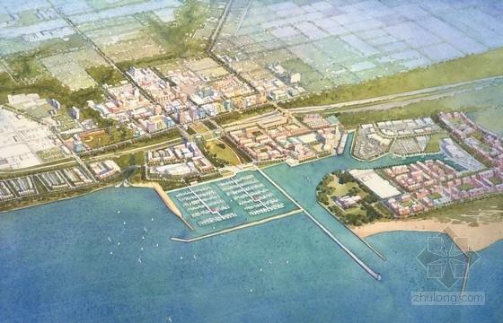 [国外]大型城市综合体规划及单体设计方案文本(美国知名建筑事务所)