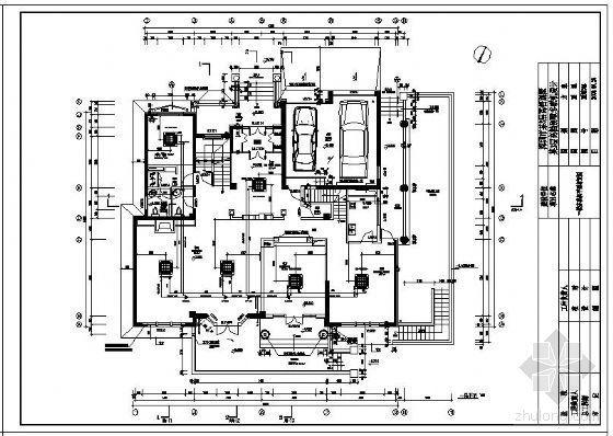 深圳某3层高档别墅中央空调(多联机)设计