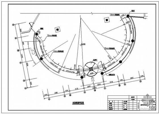 某全玻吊挂玻璃幕墙工程结构设计图