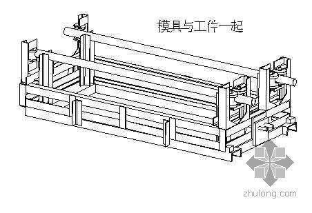 施工升降机钢结构制造施工工艺(井架钢丝绳提升机)