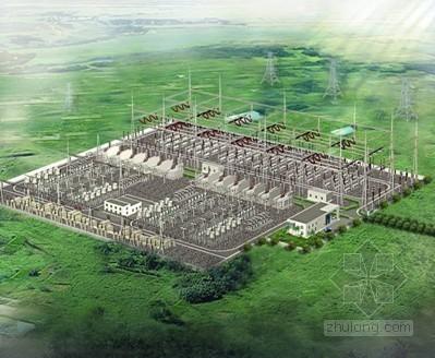[河南]500kV变电站施工质量情况(鲁班奖申报PPT)