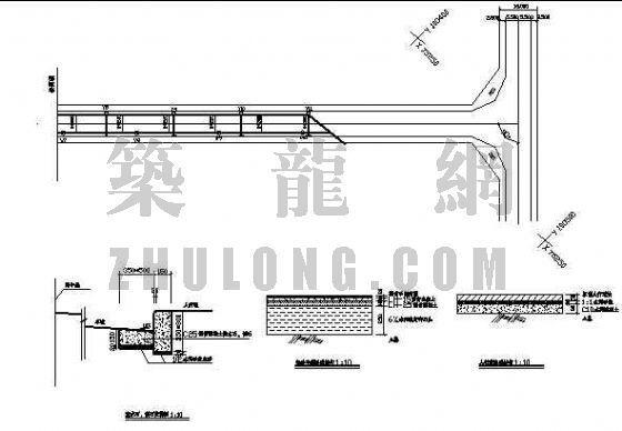 云南某小区道路及雨水管设计图