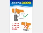 【安全月】乙炔氧气瓶使用要求高清挂图